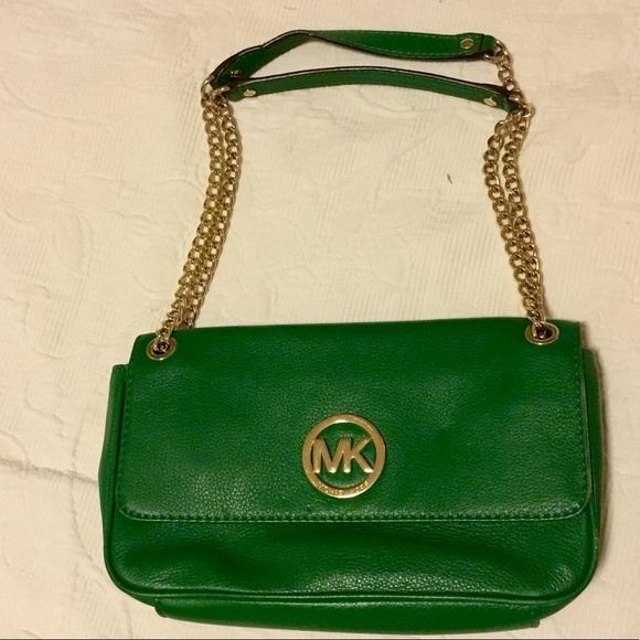 04d7343362d Michael Kors Bags   Green Bag   Poshmark